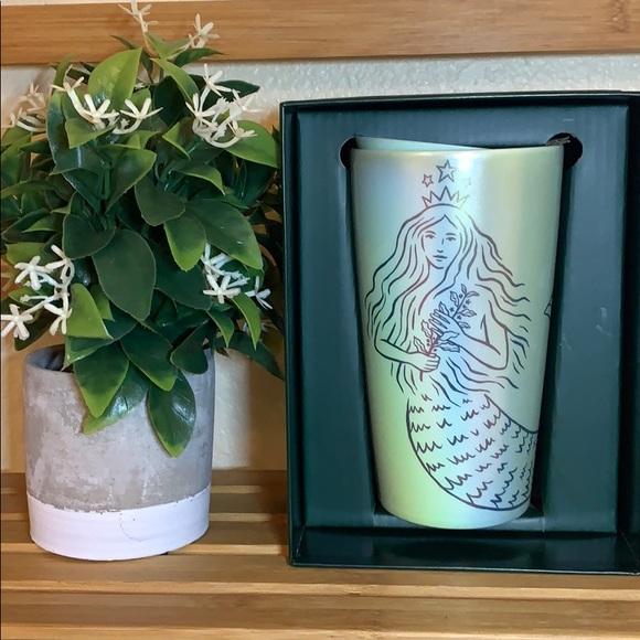 Starbucks Ceramic Mug mermaid Limited Edition